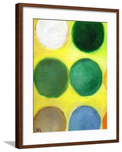 The Happy Dots 2, 2014-Nancy Moniz-Framed Art Print