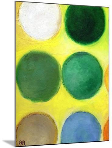 The Happy Dots 2, 2014-Nancy Moniz-Mounted Giclee Print
