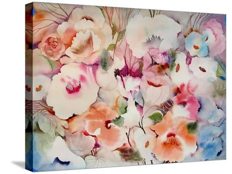 These Flowers are Fo Ryou-Neela Pushparaj-Stretched Canvas Print