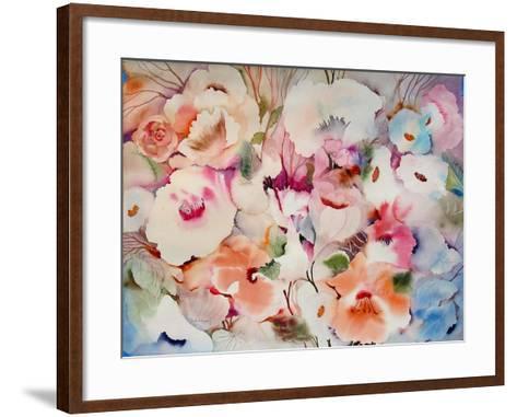 These Flowers are Fo Ryou-Neela Pushparaj-Framed Art Print