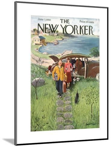 The New Yorker Cover - June 3, 1950-Garrett Price-Mounted Premium Giclee Print