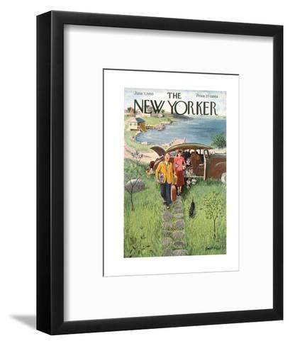 The New Yorker Cover - June 3, 1950-Garrett Price-Framed Art Print