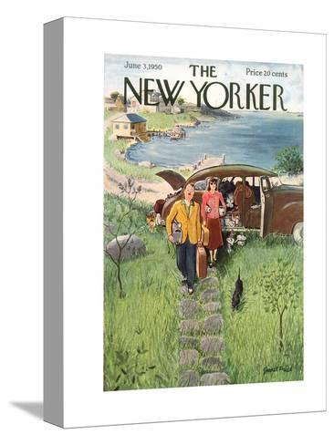 The New Yorker Cover - June 3, 1950-Garrett Price-Stretched Canvas Print