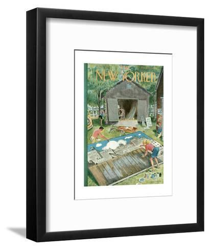 The New Yorker Cover - June 2, 1951-Garrett Price-Framed Art Print