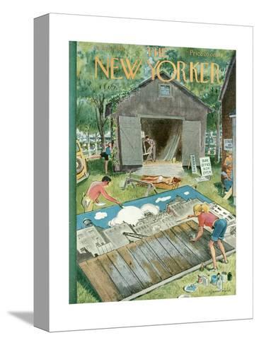 The New Yorker Cover - June 2, 1951-Garrett Price-Stretched Canvas Print