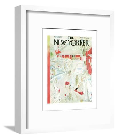 The New Yorker Cover - November 10, 1962-Garrett Price-Framed Art Print