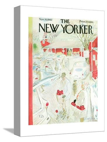 The New Yorker Cover - November 10, 1962-Garrett Price-Stretched Canvas Print