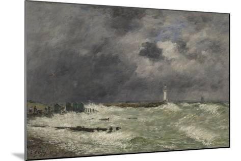 Coup de vent ? Frascati, Le Havre-Eug?ne Boudin-Mounted Giclee Print
