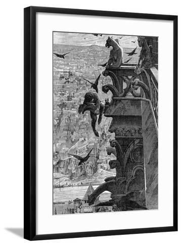 Notre-Dame de Paris-Luc-olivier Merson-Framed Art Print