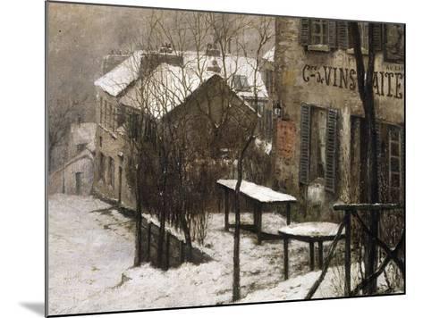 Le cabaret du Lapin Agile à Montmartre-Pierre Prins-Mounted Giclee Print