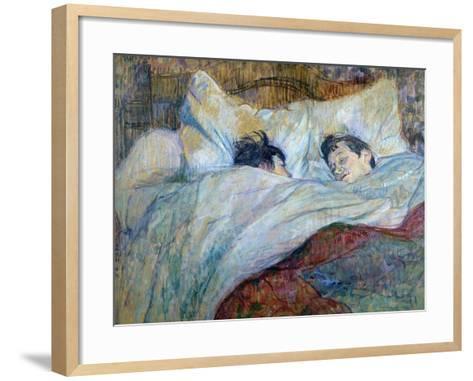 Le Lit-Henri de Toulouse-Lautrec-Framed Art Print