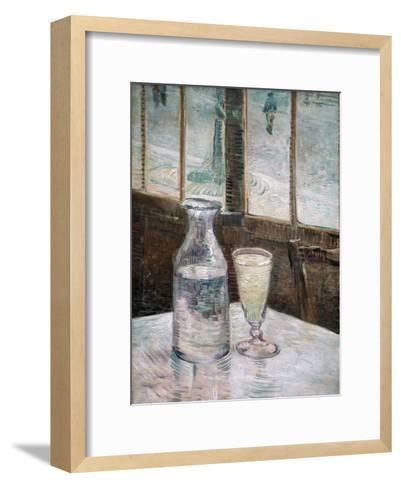 Absinthe-Vincent van Gogh-Framed Art Print
