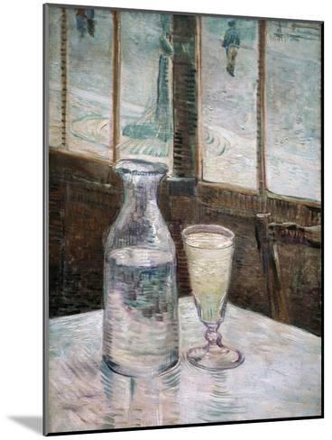 Absinthe-Vincent van Gogh-Mounted Giclee Print