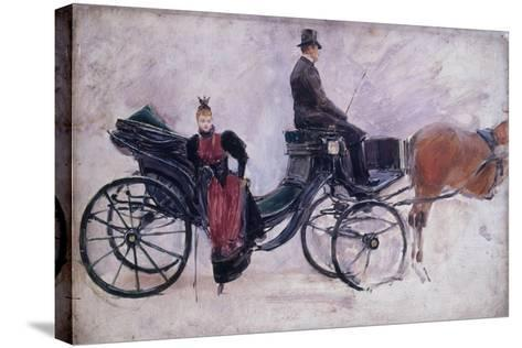 La Victoria-Jean B?raud-Stretched Canvas Print