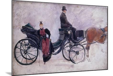 La Victoria-Jean B?raud-Mounted Giclee Print