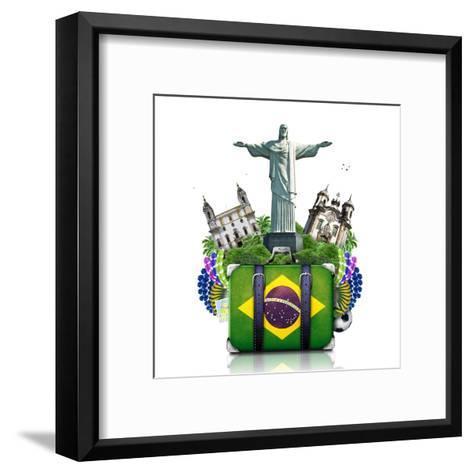 Brazil, Brazil Landmarks, Travel-Dorian2013-Framed Art Print