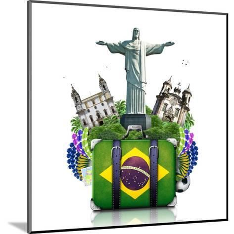 Brazil, Brazil Landmarks, Travel-Dorian2013-Mounted Art Print
