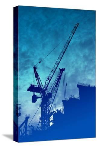 Construction Industry-kgtoh-Stretched Canvas Print