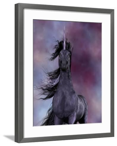 Black Unicorn-Corey Ford-Framed Art Print