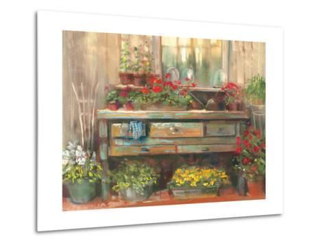 Gardners Table-Carol Rowan-Metal Print