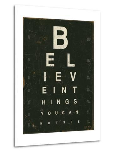 Eye Chart III-Jess Aiken-Metal Print