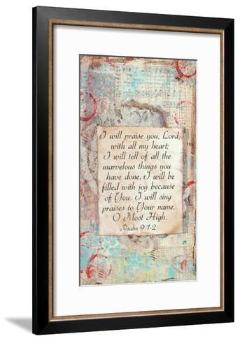 Praise-Cassandra Cushman-Framed Art Print