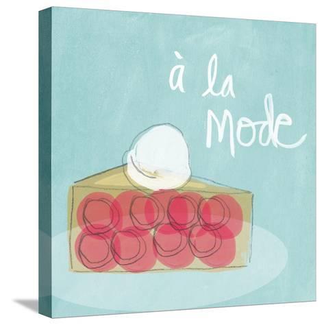 Mode I-Linda Woods-Stretched Canvas Print