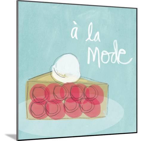 Mode I-Linda Woods-Mounted Art Print