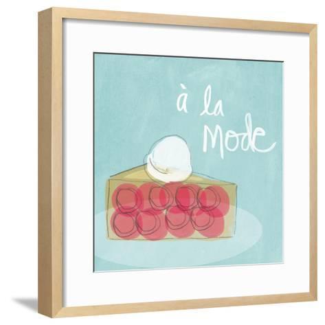 Mode I-Linda Woods-Framed Art Print