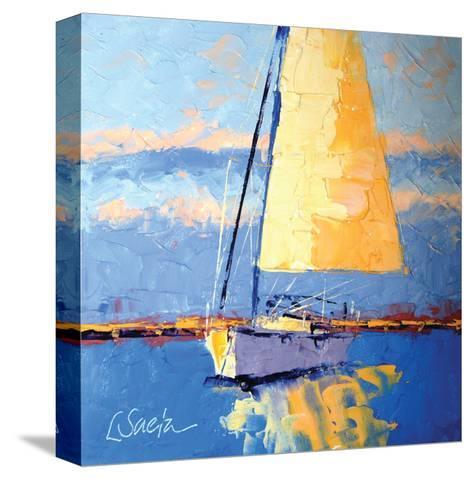 Sail Away-Leslie Saeta-Stretched Canvas Print