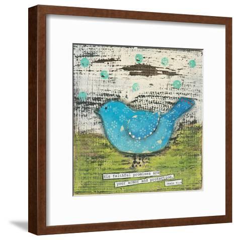 His Faithful Promises-Cassandra Cushman-Framed Art Print
