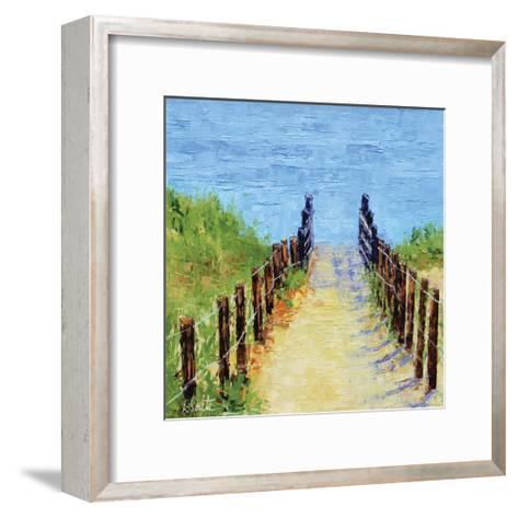 Heading on Down-Leslie Saeta-Framed Art Print