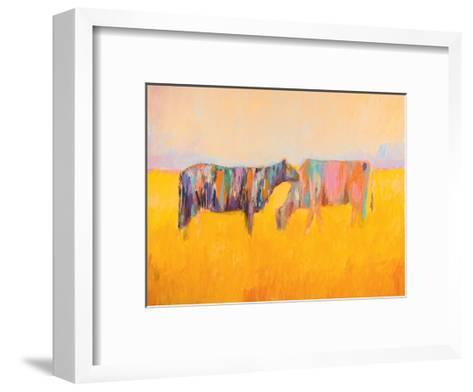 Grazing-JC Pino-Framed Art Print