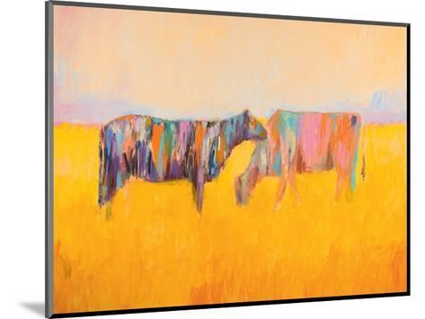 Grazing-JC Pino-Mounted Art Print
