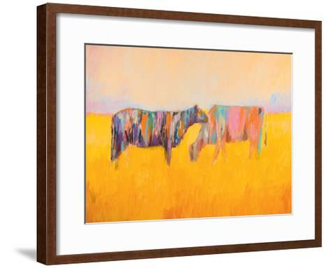 Grazing-JC Pino-Framed Art Print