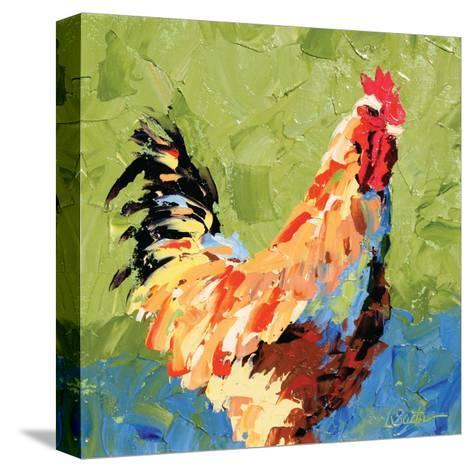 Rooster II-Leslie Saeta-Stretched Canvas Print