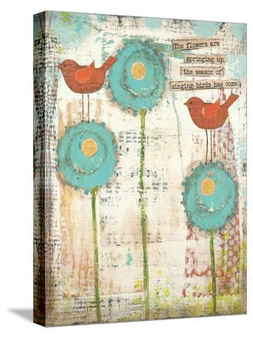 Singing Birds-Cassandra Cushman-Stretched Canvas Print
