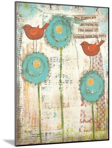 Singing Birds-Cassandra Cushman-Mounted Art Print