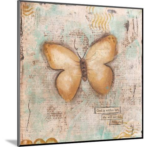 Butterfly IV-Cassandra Cushman-Mounted Art Print