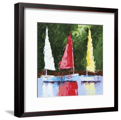 Seas the Day-Leslie Saeta-Framed Art Print