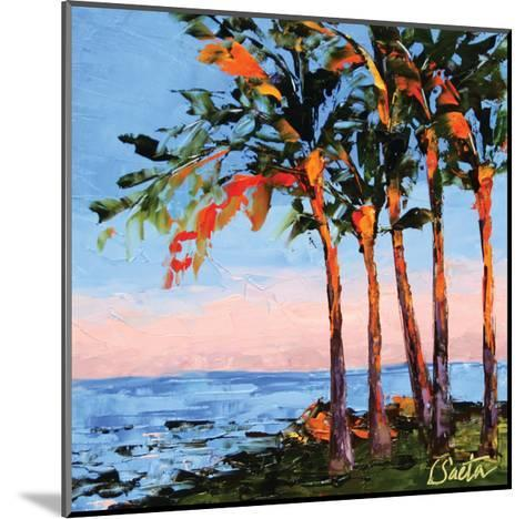 Hawaii Shores-Leslie Saeta-Mounted Art Print