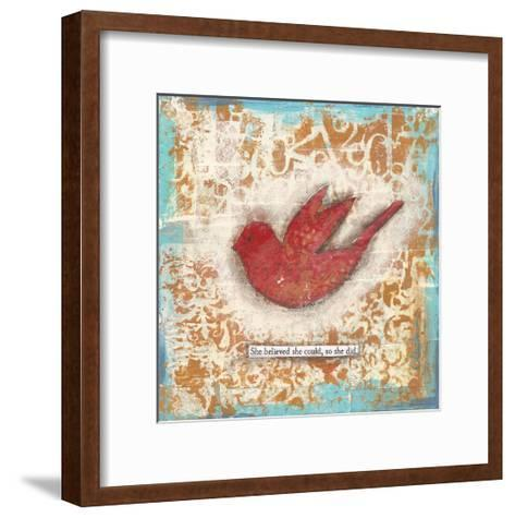 She Believed-Cassandra Cushman-Framed Art Print