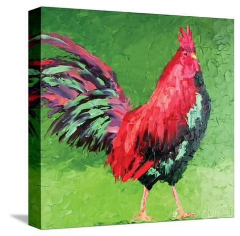 Rooster VIII-Leslie Saeta-Stretched Canvas Print