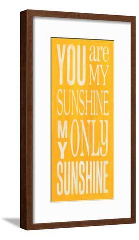 You are My Sunshine-Holly Stadler-Framed Art Print