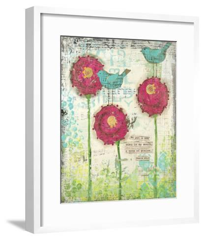 Song of Praise-Cassandra Cushman-Framed Art Print