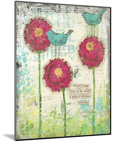 Song of Praise-Cassandra Cushman-Mounted Art Print