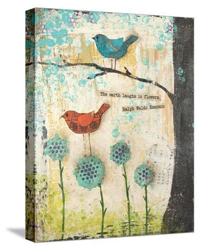 Earth Laughs in Flowers-Cassandra Cushman-Stretched Canvas Print