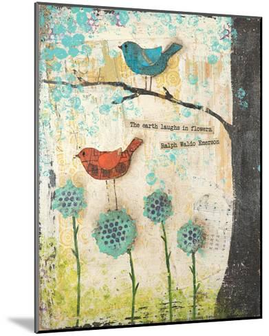 Earth Laughs in Flowers-Cassandra Cushman-Mounted Art Print
