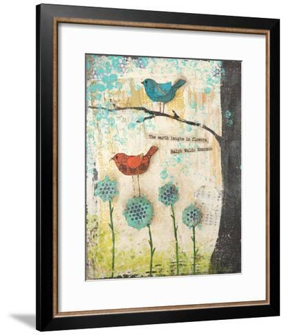 Earth Laughs in Flowers-Cassandra Cushman-Framed Art Print