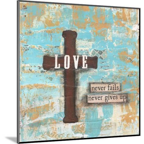 Love Cross-Cassandra Cushman-Mounted Art Print